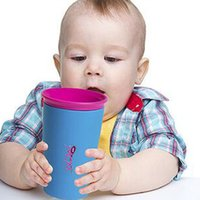 Wholesale Multi style Color Options Wow Cup for Kids with Freshness Lid Spill Free Drinking Cup Baby Magic Cup