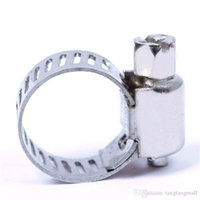 Wholesale 10pcs Hot Sale Stainless Steel Mini Jubilee Fuel Hose Clamps Pipe Clips Air Water A3