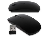 Wholesale 2 GHz Optical USB Wireless Slim Mouse For Windows Computer Laptop Mice color have stock