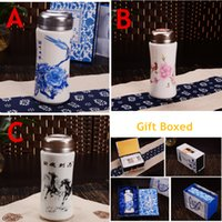 Wholesale 250ml High Quality Stainless Steel Ceramic Inner Vacuum Flasks Thermoses Unique Gifts Creative Design New