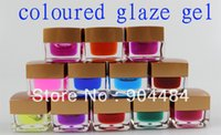 beauty product suppliers - Excellent colors Coloured Glaze Gel ml High Quality Pro UV Nail Art Salon Beauty Product Supplier