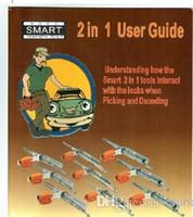 al por mayor manual de usuario-Libre de envío de archivos electrónicos para Smart 2 en 1 Manual de libro Smart Auto manual de cerrajería 2 en 1 Guía del usuario de la herramienta Inglés