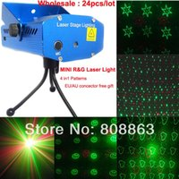 Wholesale mini Green Red pattren Laser Projector Party DJ Lighting light Disco bar Dance home stage Lights show xl69