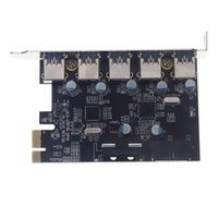 Wholesale Computer Components Ports Superspeed USB PCI E PCI Express Expansion Card Host Controller Adapter Chipset for Desktops