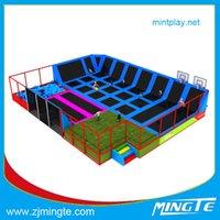 Wholesale MT2015007T Custom made trampolines Bungee Trampoline Customization attractive outdoor homemade playground equipment