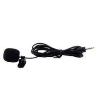 Wholesale 30Hz Hz Mini mm Tie Lapel Lavalier Clip On MIC Microphone for Speaker Lectures Teaching