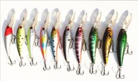 Wholesale 2014 NEW pack cm g Japan hook Minnow Fishing hard bait Lures fishing tackle eyes D