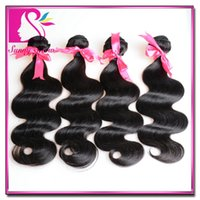 elites hair - 50 OFF DHL Brazilian Virgin Remy Human Hairs Body Wave Weft Weave Elites Hair Queen Hair products g pc Full bundles