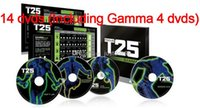 focus t25 - DVD Focus T25 Crazy Slimming Training Set pieces Gamma T25 Body Building Slimming Fitness Teaching videos suit men and women learning
