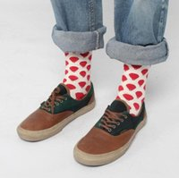 Wholesale 2014 autumn winter Fashion cotton socks for men and lady long socks high quality christmas gift A381L