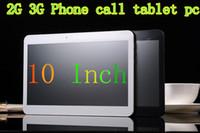 Cheap 2G 3G Phone call Tablet pc 10 Inch MTK6572 Dual SIM Card Dual Core 1.2CHz Android 4.2 IPS 1024*600 1GB RAM 8GB ROM GPS WIFI Bluetooth OTG