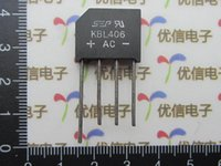 Wholesale KBL406 A V rectifier bridge pile new SEP flat Bridge