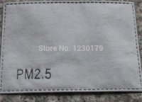 Wholesale 100pcs New high quality Anti fog and haze antimicrobial dust masks PM2 mask Activated carbon filters