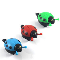 Cheap Bicycle Bell New Ladybug Cycling Bell Outdoor Fun & Sports Bike Ring Kids Gift Metal Alarm Ring Sound Bell Safety