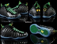 ducks - Penny Hardaway Men s basketball shoes Pro Oregon Ducks Athletic Shoes cheap men shoes Apple Green Silver