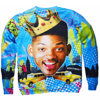 air jumpers - Fall New Crewneck Sweatshirt Sexy Sweats Will Smith Fresh Prince Bel Air vibrant jumper Tops Unisex Women Men