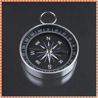 mini compass - mm Diameter Mini Aluminum Camping Compass Hiking Hiker Navigation New