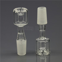 Wholesale smoking dogo domeless quartz nail with mm and mm male joint fits oil rigs and water pipes quartz nails