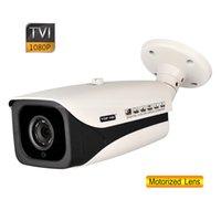 Wholesale 1080P MP Super LED mm Motorized Lens Security HD TVI Camera OSD Menu