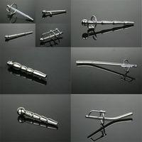 penis plug - Real sounding Stainless steel catheter Male urethral probe dilators urethra products penis plug penis plug sex toy for women man