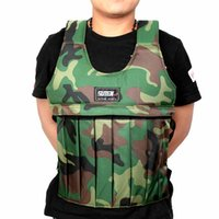 Wholesale Camouflage Weighted Vest Adjustable Durable Weighted Jacket Workout Training Waistcoat Fitness Equipments