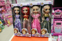 doll shoes - Princess sofia the first doll New In Box cm quot tall Girl s Princess Sofia The First Dress and Shoes Doll Toy mixed colors KT01