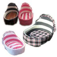 Wholesale Great Cute Pet Dog Puppy Cat Soft Fleece Warm Bed House Plush Nest Mat Pad