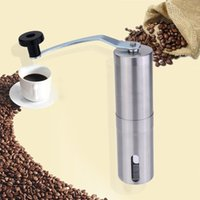 bean machine coffee - Stainless Steel Manual Coffee Bean Grinder Mill Kitchen Grinding Tool Milling Cutter Machine Kitchen Accessories H15456