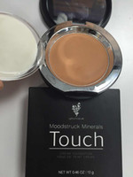 Wholesale 5pcs AAA YNQ Touch Newest colors YNQ Touch Mineral Pressed Powder Foundation Full Size via E packet