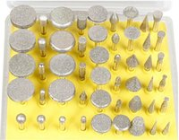 Wholesale Brand New pc Diamond coated grinding slice Dremel Accessories For Rotary Tools