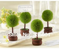 Wholesale Factory directly sale Wedding favor Topiary Photo Holder Place Card Holder