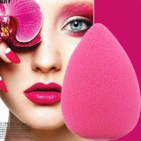 Wholesale 1 X Random Drop Shape Makeup Foundation Facial Sponge Blender Blending Puff Flawless Powder Smooth Beauty Cosmetic Tools
