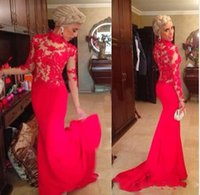 Cheap Reference Images evening dresses Best High Neck Lace 2015