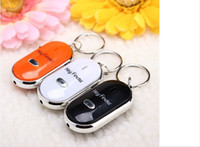 Wholesale 2016 Hot NEW sale Whistle Activated KeyFinder LOCATOR with LED Light Amazing Key Finder Keyring Bo Friends finder keychain whistle perspect