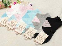 acrylic portfolios - Fashion female MoChuan cotton socks portfolio article wide ling dot socks