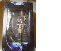 Wholesale PVC Figures Toys LOL League Of Legends Action Figure The Sheriff Of Piltover Cait Cassiopeia With Gun