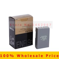 Wholesale Original EN EL9A EN EL9 EN EL9A EL9 ENEL9A Digital Camera Battery for Nikon D60 D40 D40X D5000 D3000