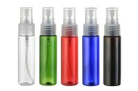 Wholesale 30 ml Cosmetic Makeup Spray Bottles Small Empty Plastic Transparent Atomiz Perfume Water Spray Bottle mixed color