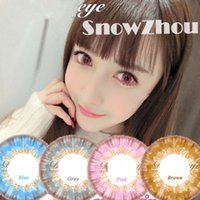 Wholesale 1pair Fairy princess colors very bright color contact lenses DHL shipping Recognized comsmetic contact lenses