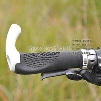 Wholesale Carbon handlebar Grip Bar End Set bicycle mountain bike lock bike accessories Grip Bar End