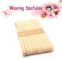 Wholesale 100PCS X Wooden Waxing Spatulas mm For Hot Wax Hard Wax Depilation For Armpits Chests Legs Bikini Hair Removal