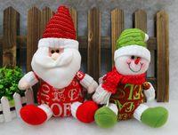 alphabet dolls - 2015 New hot English alphabet cloth cloth doll doll for Christmas Christmas Christmas Santa Snowman plush toys SD