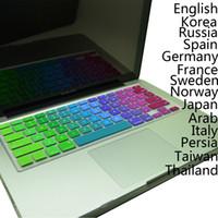 apple imac cover - EU English Spanish Arab Russia Frence Swedish Italian Germany Norwegian Keyboard Cover Protectors For Apple Macbook Mac quot quot quot iMac G6