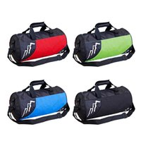 Wholesale 4 colorful Nylon New Travel Gym Mens Boys Dry Cylinder shoulder bags Bag For Off Road Sports Outdoor style