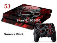 Cheap 2014 NEW ARRIVAL FOR PS4 SKIN STICKER FOR PS4 WIRELESS CONTROLLER CONSOLE DECAL SKIN 15 pieces Lot
