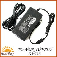 Wholesale 12V A power supply AC Adapter input V A output V A for led lighting with box