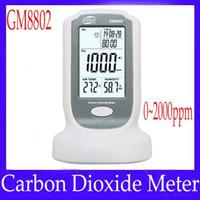 Wholesale Mini Carbon dioxide meter GM8802 with buzzer alarm MOQ