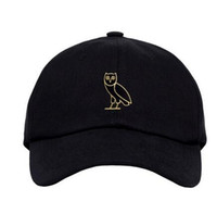 Wholesale rare Drake god pray ovo october cap OWL GOLD DENIM baseball streetwear Wiz Khalifa Ian Connor gosha snapback hats black