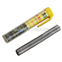 solder wire - Excellent Quality Brand New mm Tin Resin Flux Rosin Core Solder Soldering Wire Dispenser Tube Kit A2