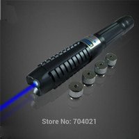 1w laser - 1W W high power Handheld laser pointer blue ignite candle laser pens light cigarette in1 lazer torch
